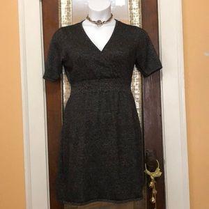 Liz Claiborne sparkle knit dress